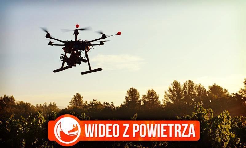 Reklama noclegów z wykorzystaniem dronów