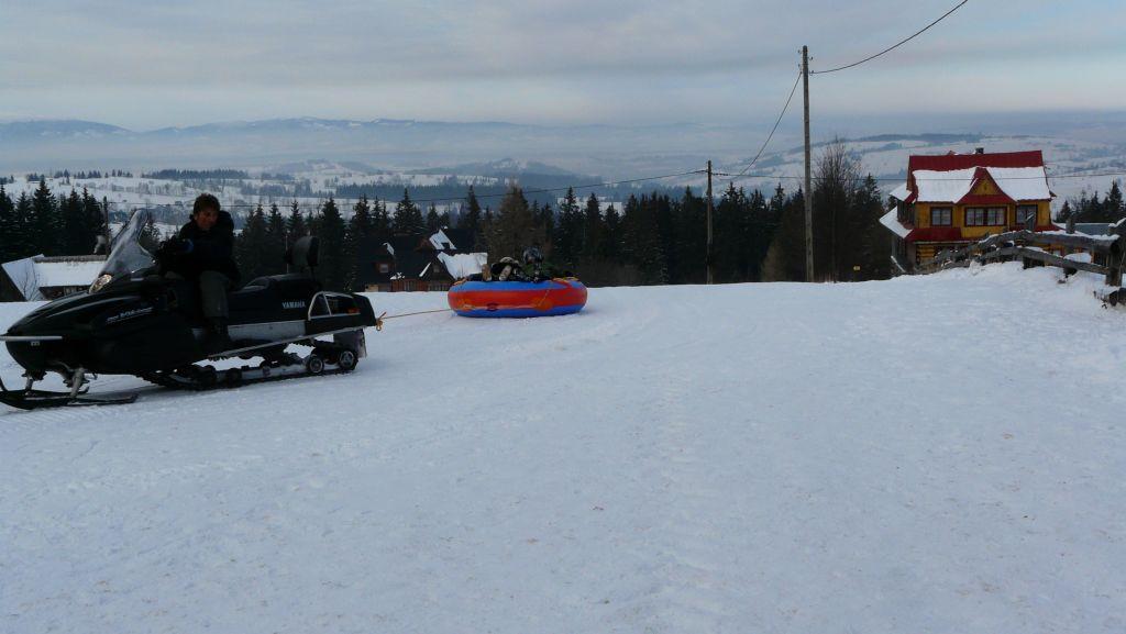 Snow tubing i snow rafting skutery śnieżne w Zakopanem 5