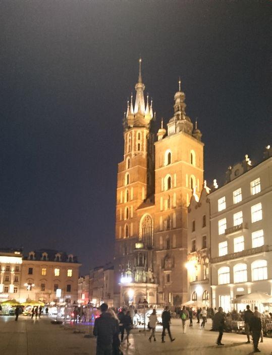 Zabytkowy Kościół Mariacki w Krakowie 1