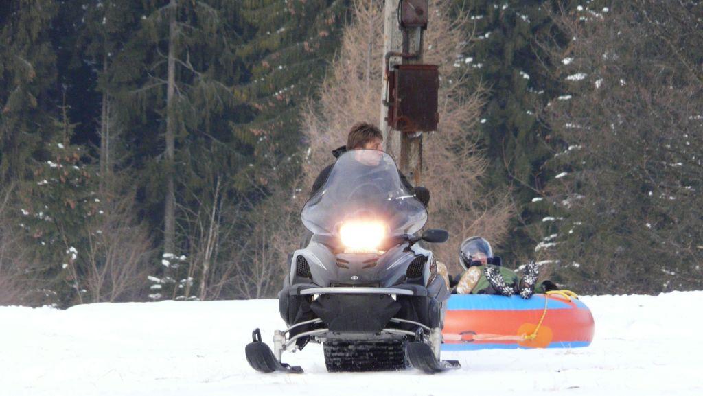 Snow tubing i snow rafting skutery śnieżne w Zakopanem