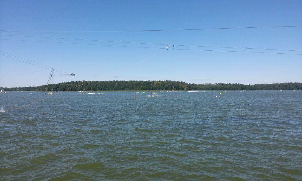 Wyciąg nart wodnych w Augustowie 4