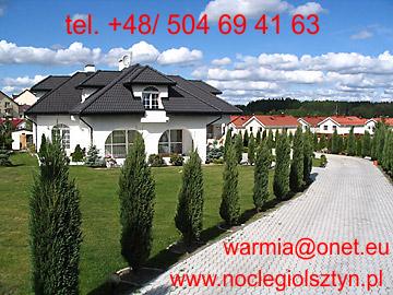 NOCLEGI, POKOJE w Olsztynie