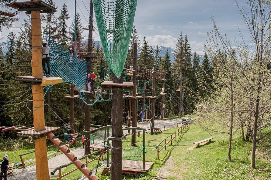 Park linowy w Zakopanem - Złota Grań na Gubałówce
