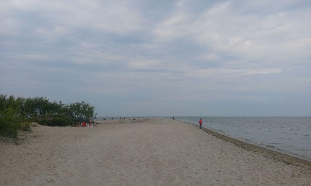 Piaszczysta plaża w Rewie 3