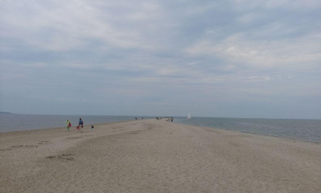 Piaszczysta plaża w Rewie 5