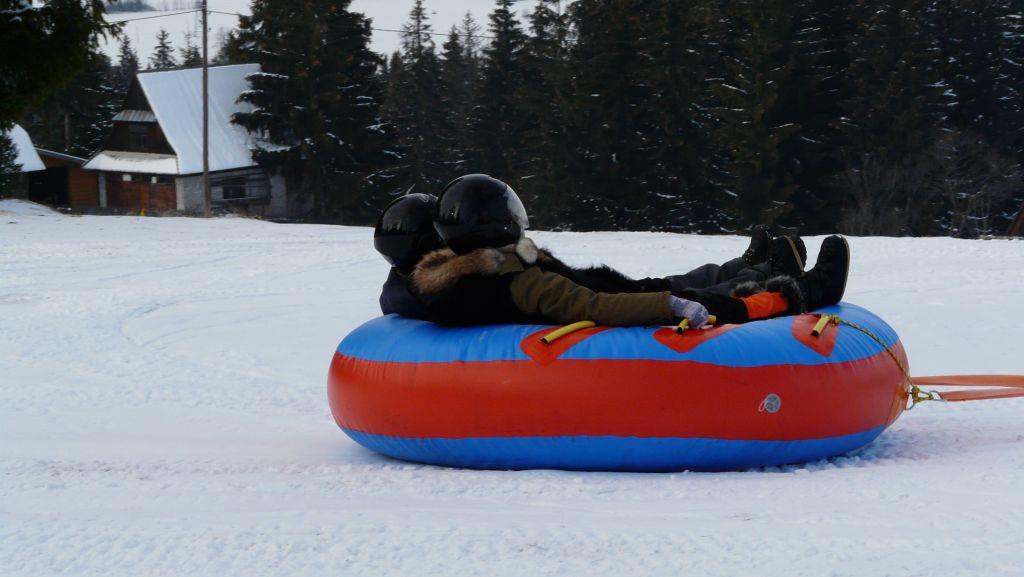 Snow tubing i snow rafting skutery śnieżne w Zakopanem 3