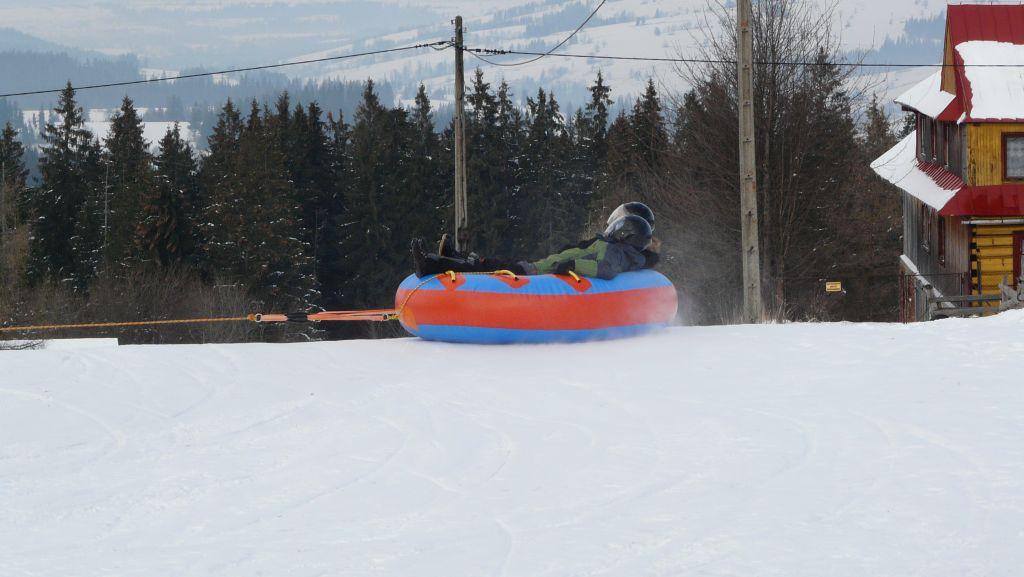 Snow tubing i snow rafting skutery śnieżne w Zakopanem 4