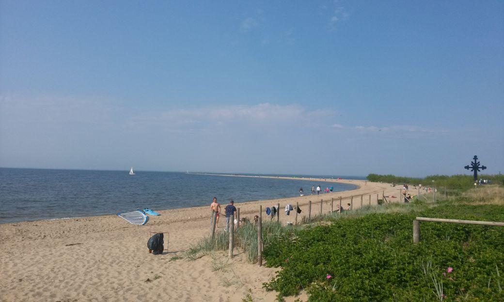 Piaszczysta plaża w Rewie 1