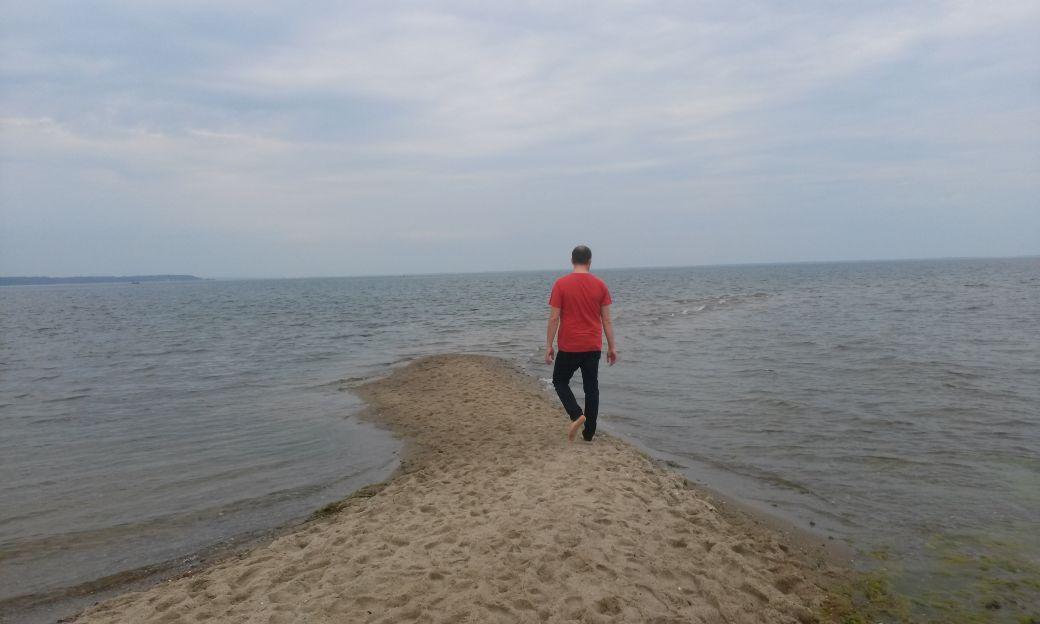 Piaszczysta plaża w Rewie 9